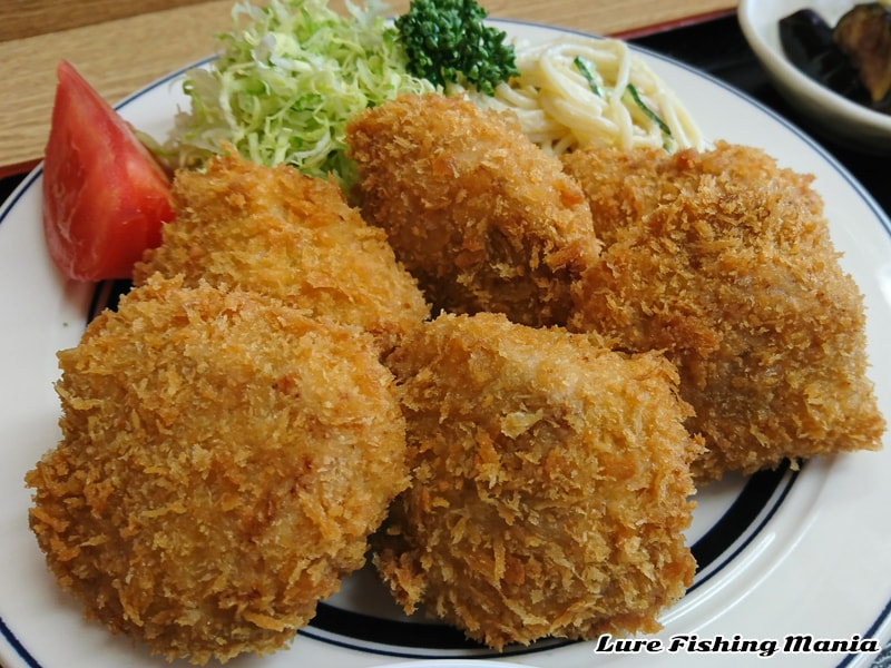 浅井さんのヒレカツ定食
